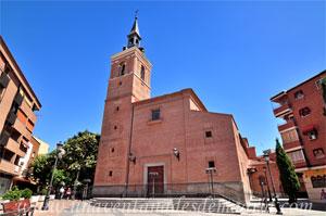 Leganés, Iglesia Parroquial de San Salvador