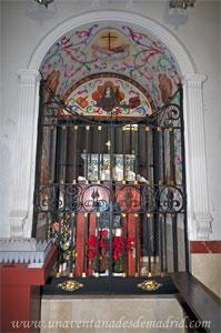 """Monasterio y Santuario de Santa María de la Cruz y la Santa Juana, Capilla donde se guardan los restos de """"la Santa Juana"""""""