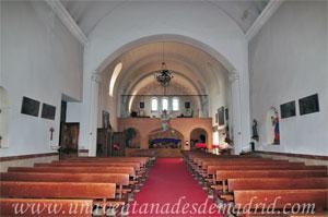 Monasterio y Santuario de Santa María de la Cruz y la Santa Juana, Coro alto de la iglesia