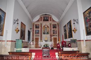 Monasterio y Santuario de Santa María de la Cruz y la Santa Juana, Interior de la actual iglesia conventual