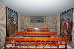 Monasterio y Santuario de Santa María de la Cruz y la Santa Juana, Escalera de descenso de la antigua entrada principal