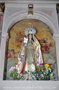Monasterio y Santuario de Santa María de la Cruz y la Santa Juana, Imagen de Santa María de la Cruz