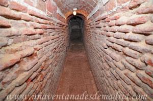 Monasterio y Santuario de Santa María de la Cruz y la Santa Juana, Antiguo túnel subterráneo