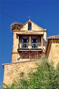 Montejo de la Sierra, Espadaña de la Iglesia de San Pedro in Cáthedra