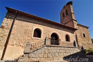 Montejo de la Sierra, Lateral Sur de la Iglesia de San Pedro in Cáthedra