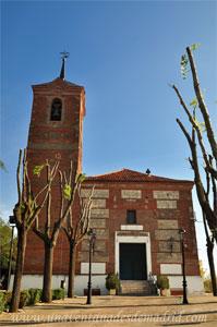 Moraleja de Enmedio, Iglesia Parroquial de San Millán