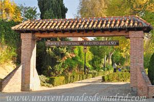 """Moraleja de Enmedio, Parque Municipal """"Arroyo del Caño"""""""