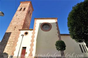 Móstoles, Fachada Sur de la Iglesia Parroquial de Nuestra Señora de la Asunción