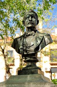 Pinto, Busto de Jaime Méric