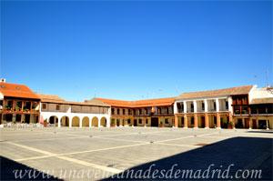 Pinto, Plaza de la Constitución