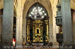 Pinto, Altar Mayor y Púlpito de la Iglesia Parroquial de Santo Domingo de Silos