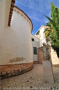 Valdelaguna, Ábside mudéjar de la Iglesia de Nuestra Señora de la Asunción