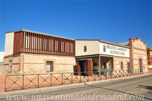 Villa del Prado, Antiguo Matadero Municipal, actual Biblioteca Municipal Alfonso Ussía