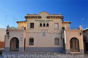 """Villa del Prado, Biblioteca Pública Municipal """"Nuestra Señora de Poveda"""""""