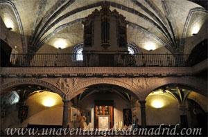 Villa del Prado, Coro de la Iglesia