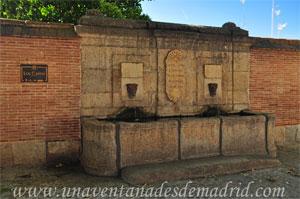 """Villa del Prado, Fuente de """"Los Caños"""""""
