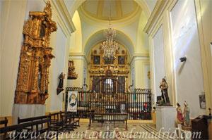 Villa del Prado, Interior de la Ermita de Nuestra Señora de la Poveda