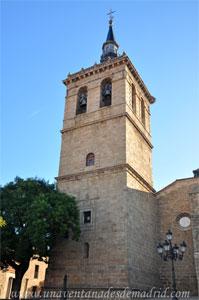 Villa del Prado, Torre Oeste de la Iglesia