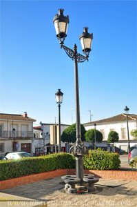 Villamantilla, Fuente de forja