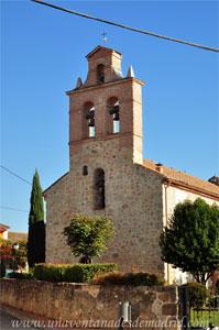 Villamantilla, Fachada Este de la Iglesia de San Miguel