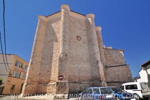 Villarejo de Salvanés, Ábside de la Iglesia Parroquial de San Andrés Apóstol