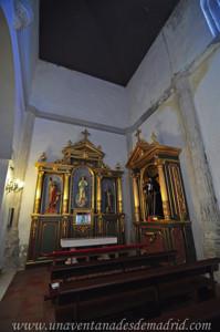 Villarejo de Salvanés, Capilla de los Aponte en el interior de la Iglesia Parroquial de San Andrés Apóstol