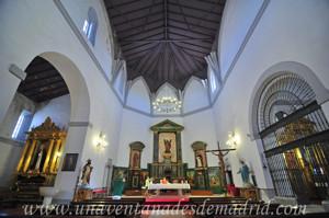 Villarejo de Salvanés, Interior de la Iglesia Parroquial de San Andrés Apóstol