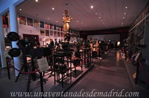 Villarejo de Salvanés, Interior del Museo del Cine