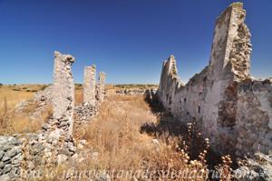 Villarejo de Salvan�s, Restos del templo de Santa Mar�a