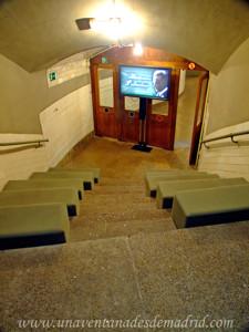 Antigua entrada a la Estación Fantasma de Chamberí
