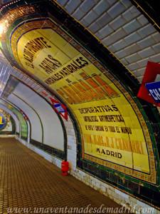 Estación Fantasma de Chamberí, Publicidad original del momento en que se cerró la Estación