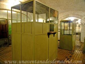 Estación Fantasma de Chamberí, Taquillas de venta de billetes