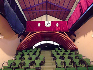 Hospital de Incurables de Nuestra Señora del Carmen, Salón de Actos