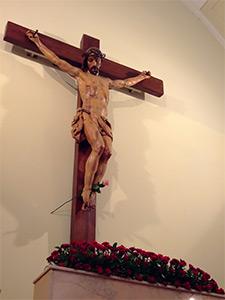 Hospital de Incurables de Nuestra Señora del Carmen, Santísimo Cristo de la Fe