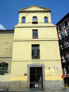 Hospital de Incurables de Nuestra Señora del Carmen, Iglesia del Santísimo Cristo de la Fe
