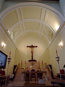 Hospital de Incurables de Nuestra Señora del Carmen, Vidriera original