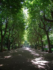 Huesca, Parque Miguel Servet