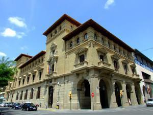 Huesca, Delegación de Hacienda