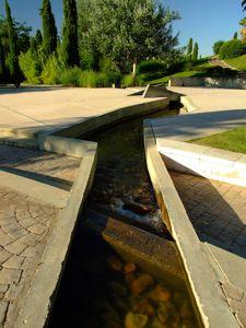 Jardín de las Tres Culturas, Acequia del Jardín Judío