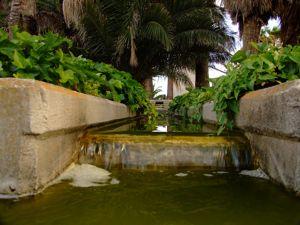 Jardín de las Tres Culturas, Acequia