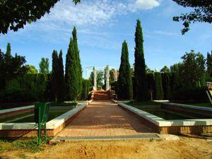 Jardín de las Tres Culturas, Albercas