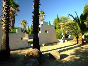 Jardín de las Tres Culturas, Desierto