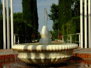 Jardín de las Tres Culturas, Fuente islámica