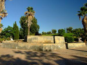Jardín de las Tres Culturas, Fuente judía