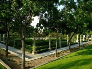 Jardín de las Tres Culturas, Jardín Cristiano