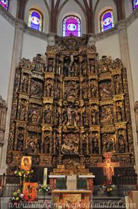 Carlos I, Retablo de la Capilla del Obispo