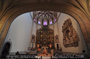Carlos I, Interior de la Capilla del Obispo