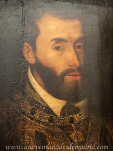 Retrato de Carlos I, Anónimo flamenco del siglo XVI. Museo de Santa Cruz, Toledo
