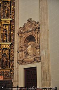 Carlos I, Cenotafio de Doña Inés de Carvajal