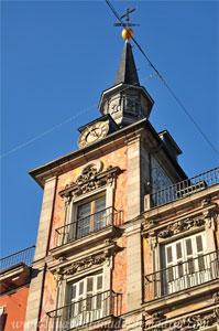 Madrid, Carlos II, Torre Oeste de la Casa de la Panadería